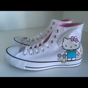 New Converse All Star Chick Taylor HELLO KITTY 8.5